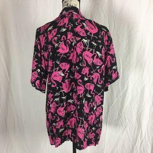 otc Shirts - Flamingo Button up Shirt
